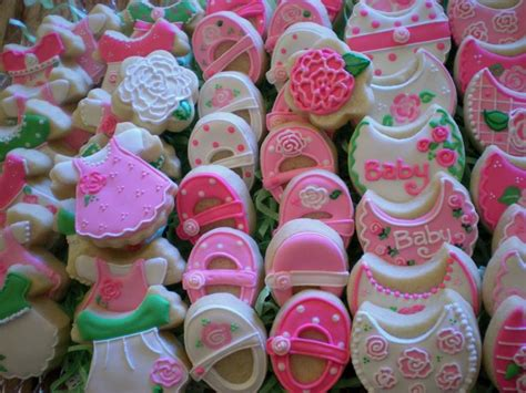 rose themed baby shower rose themed baby shower minis my cookies pinterest