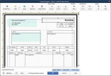 layout design in quickbooks invoicing customers bookkeeping chores quickbooks 2016