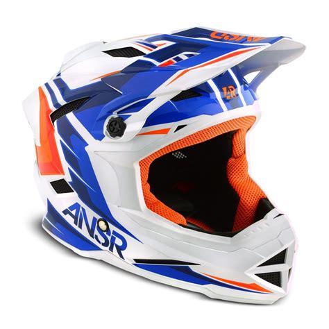 youth answer motocross gear answer racing 2015 youth faze bmx helmet blue orange