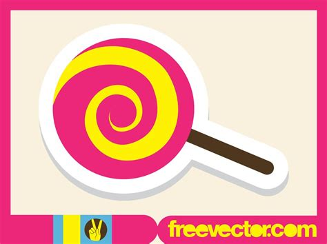 vector lollipop tutorial lollipop icon