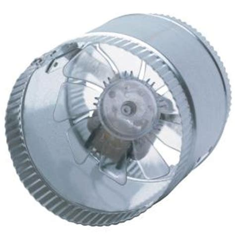 inductor fan home depot suncourt inductor 6 in crimped in line duct fan db200 the home depot