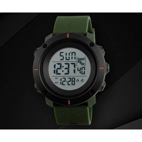 Jam Tangan Pria Anti Air Water Resistance Skmei Ad1016 skmei jam tangan digital pria dg1213 army green jakartanotebook