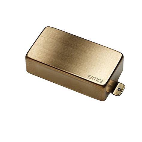 Emg 81 Gitar Gold emg 81 6 string humbucker brushed gold at
