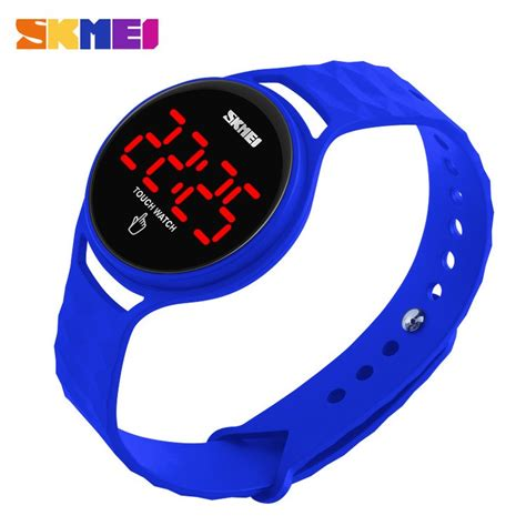 Skmei Jam Tangan Led Touch 1230a Gb skmei jam tangan led touch wanita 1230a blue
