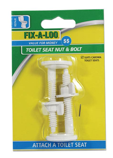 caroma toilet seat replacement parts toilet seat nut bolt suits caroma fix a loo
