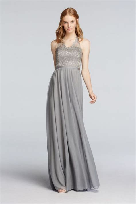 Silver Bridesmaid Dress by 30 Most Silver Bridesmaid Dresses Everafterguide