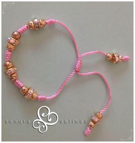 pulseras nudos pulsera rosa de nudos franciscanos para ni 241 a moda