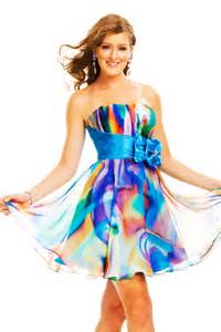 colorful dress prom dresses