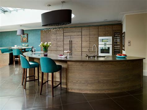curved island kitchen designs 18 curved kitchen island designs ideas design trends