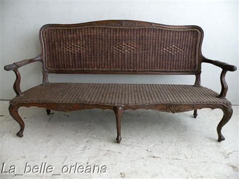 wicker sofas for sale outstanding 19thc french colonial rattan sofa l k for