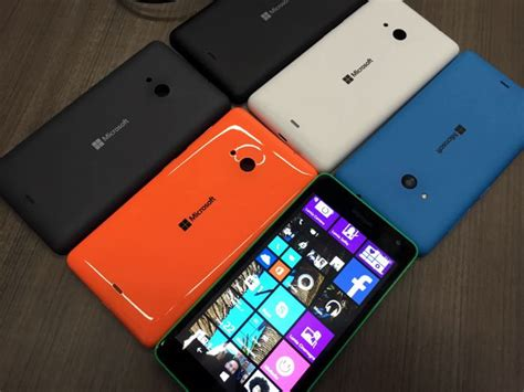 Microsoft Lumia Wp 10 windows 10 headed to existing lumia handsets in december