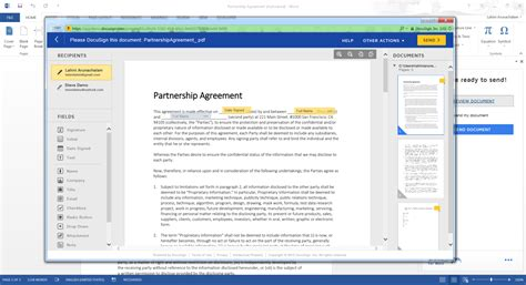 docusign templates docusign for word docusign