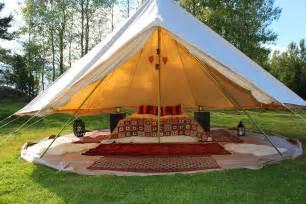 Backyard Yurt Glamping When Class Meets Camping Fusia Magazine