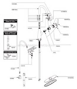 Peerless Kitchen Faucet Replacement Parts moen 7594csl parts list and diagram ereplacementparts com