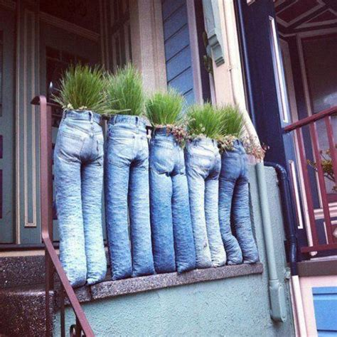 interesting useful ideas for how can you make a small jean plant pots ideas pinterest permaculturepower