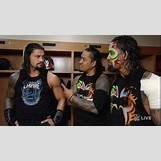 Roman Reigns And The Usos Football | 619 x 347 jpeg 33kB