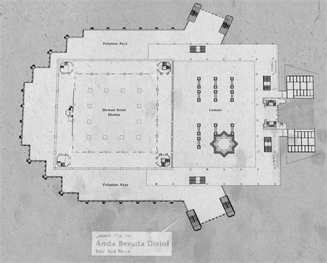 floor plan of mosque mosque plans designs images