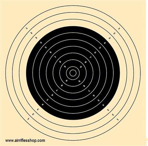 22 long rifle printable targets 75 foot 22 caliber targets printable clipart library