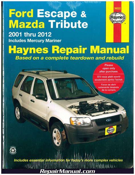 2008 Ford Escape Haynes Manual