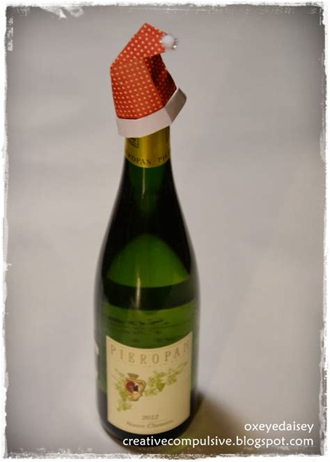 Origami Wine Bottle - creative compulsive fold along 24 origami projects