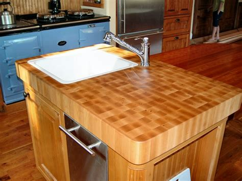 Countertop For Island by Kitchen Island With Butcher Block Countertop Rachael Edwards