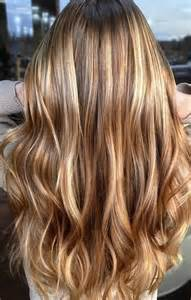 honey colored highlights honey gold bronde mane interest