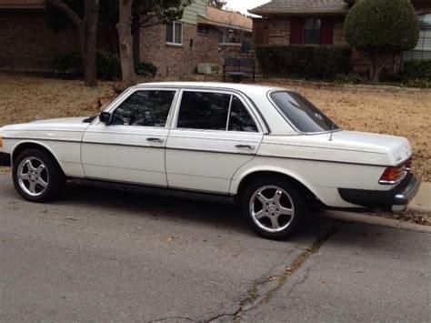 Mercedes Diesel Cars For Sale 1983 mercedes turbo diesel cars for sale