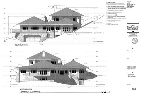 Architectual Plans working drawings