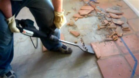 Removing Saltillo tile   YouTube