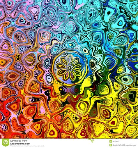 Unique Pattern abstract background with colorful creative stylized shapes