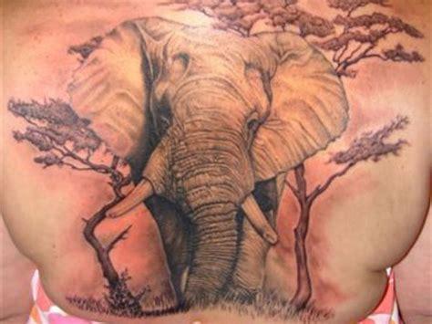 35 astonishing elephant tattoo designs elephant on back busbones