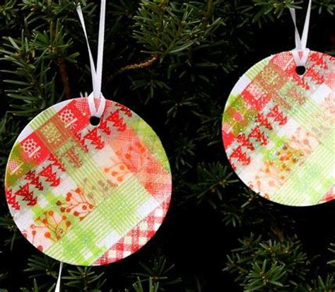 washi paper ornament simple washi ornaments allfreechristmascrafts