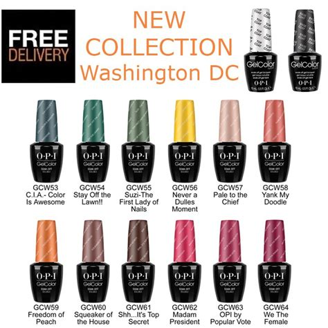 in color washington dc opi gel washington dc new collection nail gel colour