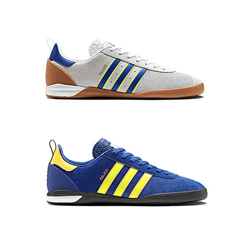 adidas x palace indoor sneaker available now the drop date