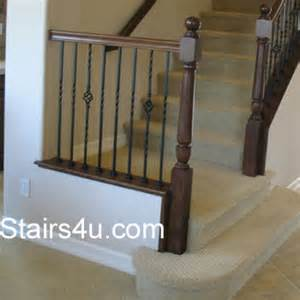 Stair Spindle Spacing by Baluster Spacing Building Code Gray Area
