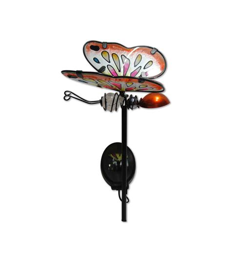 metal solar path lights metal butterfly solar path light jo