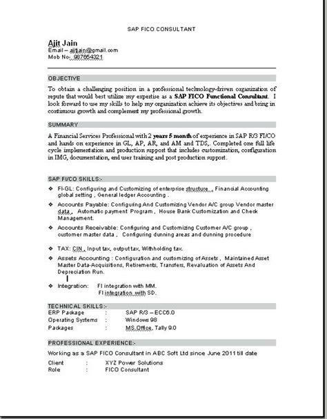 sap sd sle resume resume ideas