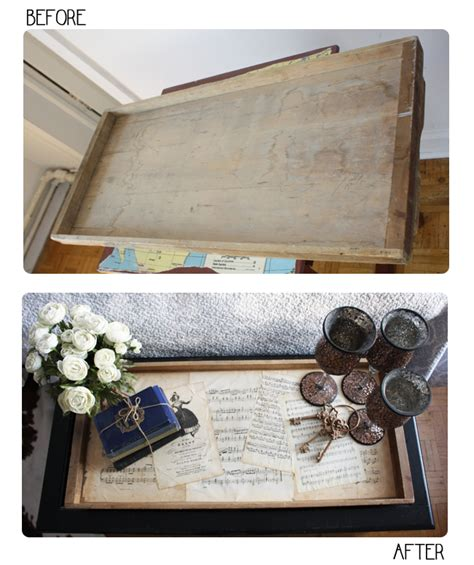 wood tray diy diy wooden coffee table tray isn t that charming