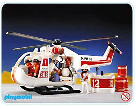 white rescue playmobil set 3789 white rescue helicopter klickypedia
