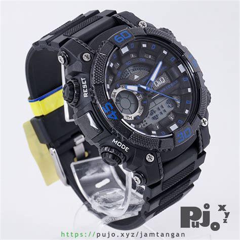 Jam Tangan Q Q Black Blue jual q q gw87j003y jam tangan pujo xyz