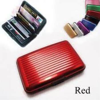 Buy 1 Get 1 Wallet Credit Card Size Pocket Tool K Murah aluma wallet the stylish aluminum wallet buy 1 get 1 free security credit card wallet on 75