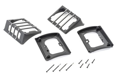 Rugged Ridge Light Guards by Rugged Ridge Elite Light Guards For 07 17 Jeep
