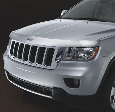 2011 Jeep Grand Windshield Chrome Front Air Deflector Creates An Air To