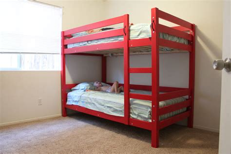 bunk bed plans free bed plans diy blueprints