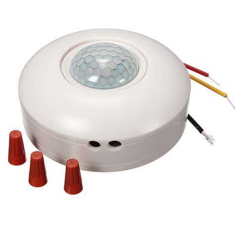 motion sensor light switch on 360 degree pir motion sensor switch sensor detector light