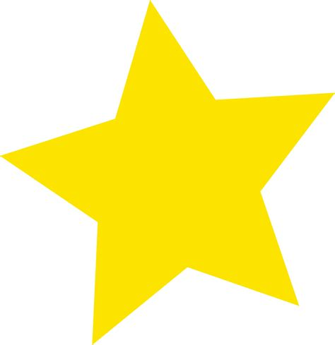 printable star yellow star yellow clipart best