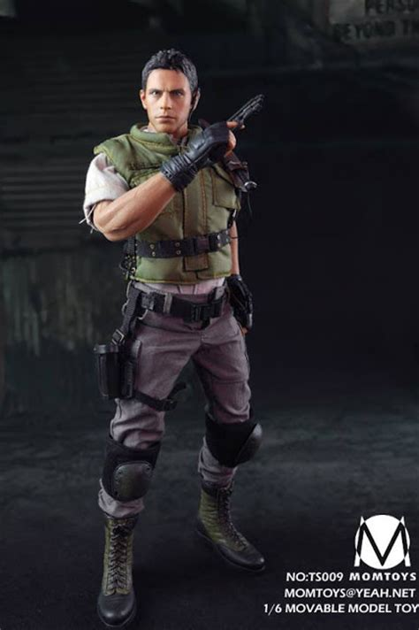 16 Phicen Redfield Figure toyhaven toys 1 6th scale 12 inch figure aka resident evil chris redfield