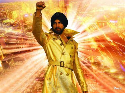 Akshay Kumar In Singh Is King Movie Poster