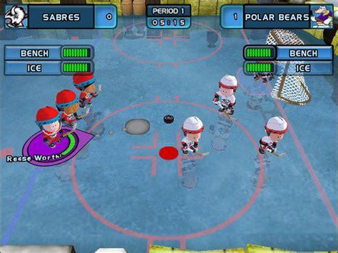 backyard hockey game backyard hockey game giant bomb