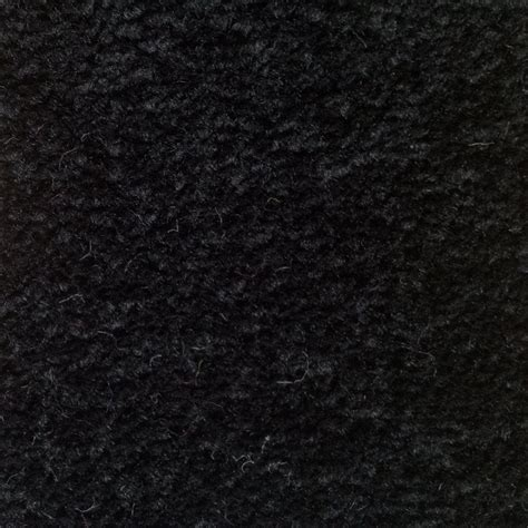 schwarzer teppich cabaret 178 back 100 polypropylene black carpet from